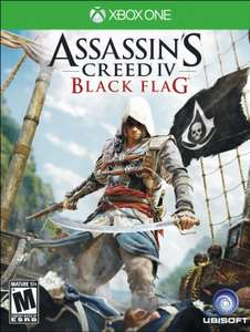 Game Deal Daily: Assassin's Creed Black Flag Xbox One US$5.75, Unity $16.75