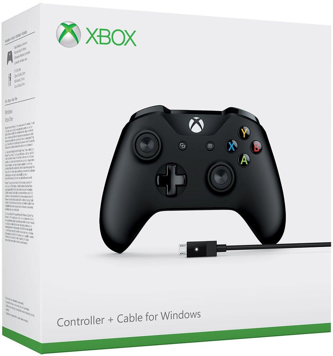 Amazon: Control Inalámbrico para Xbox One + cable (con Bluetooth y entrada de 3.5mm para auriculares)