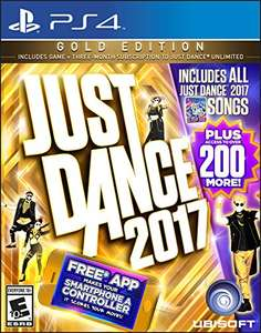 Amazon: Just Dance 2017 - Edicion Gold - PlayStation 4 - Gold Edition Prime