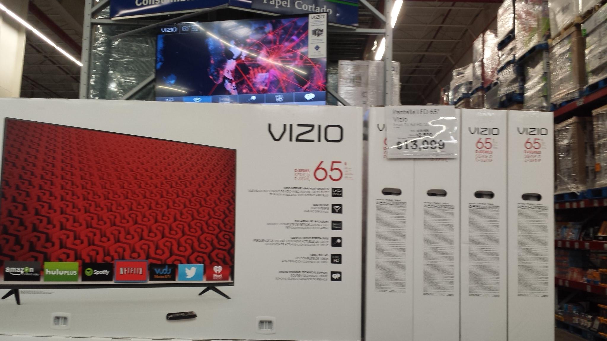 "Sam's Club: LED Smart TV Vizio 65"" $13,999"