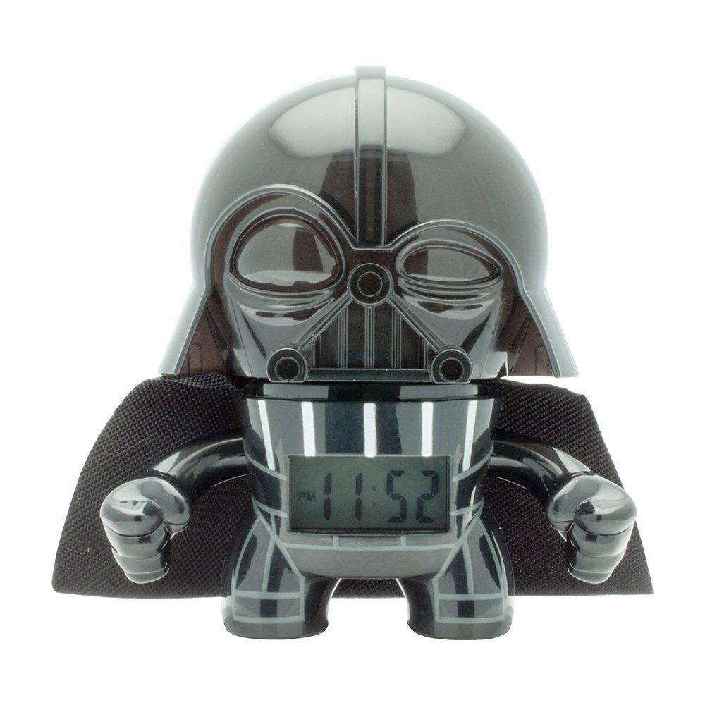 """Amazon: Reloj Despertador para Niños, Star Wars Darth Vader, 3.5"""", color Negro"""