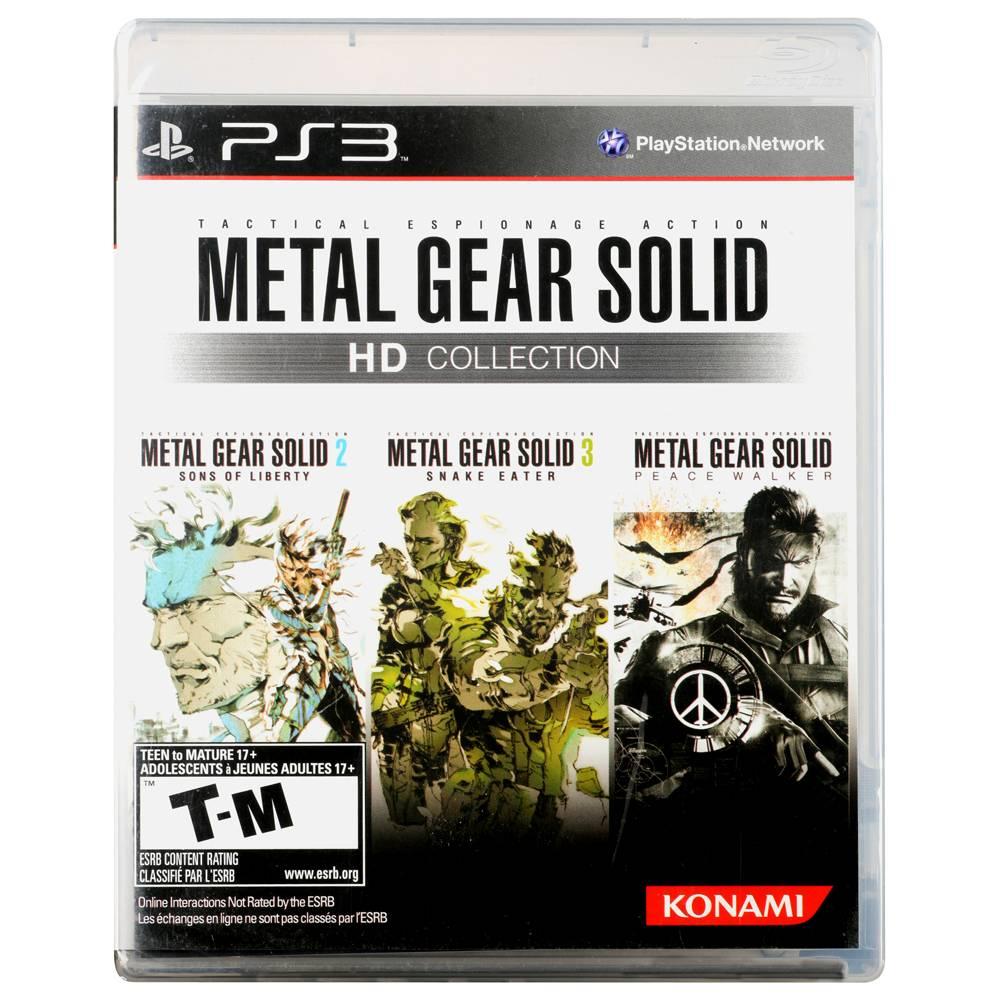 Walmart - Metal Gear Solid Hd Collection Konami PS3 por $490.00