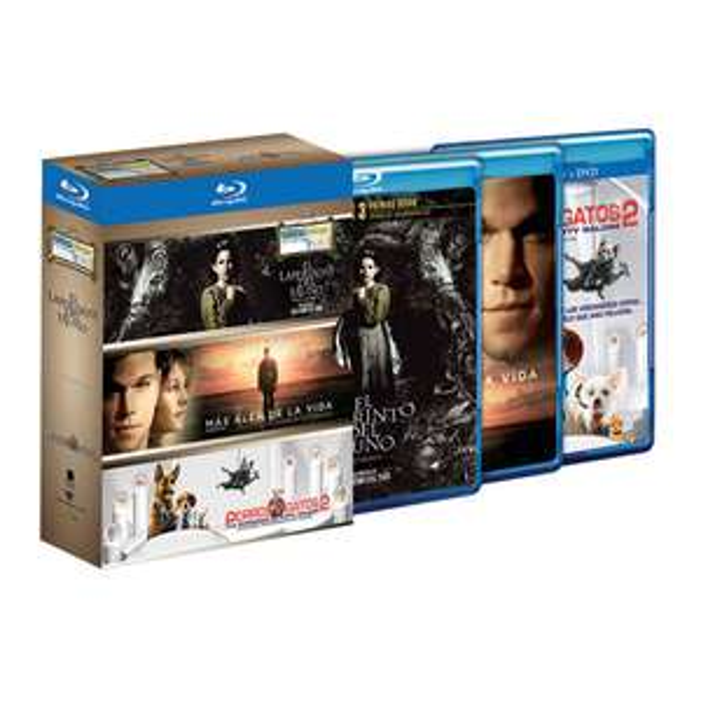 Walmart: Paquetes de 3 Películas Blu-ray a $49
