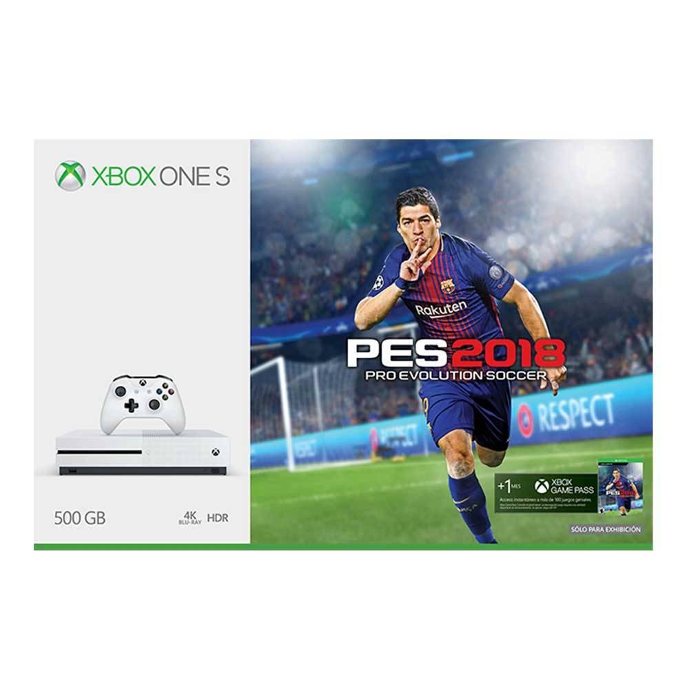 Walmart: Xbox One S 500GB Pro Evolution Soccer 2018 (pagando con Banamex a 18MSI)