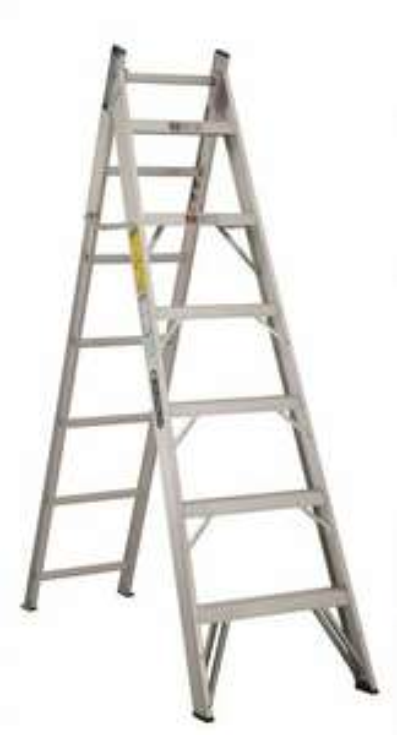 Sears escalera convertible de aluminio 13 escalones for Oferta escalera aluminio