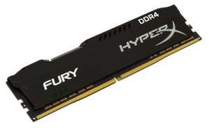 Cyberpuerta: Memoria RAM Kingston HyperX FURY Black DDR4 8 GB
