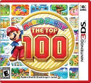 Elektra: Mario Party The Top 100 para 3DS