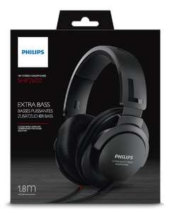 Amazon: Philips SHP2600/27 Auriculares, color negro