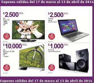 Folleto de ofertas en Costco del 17 de marzo al 13 de abril