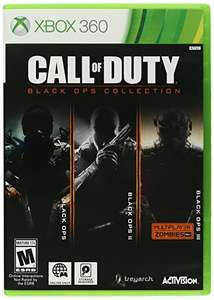 Amazon: Call of duty Blackops Collection para Xbox 360