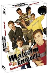 Amazon Malcolm in the middle 2da temporada Dvd