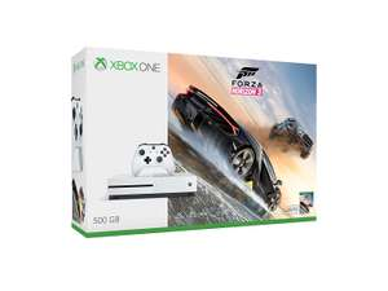 Amazon: Consola Xbox One S 500GB + Forza Horizon 3