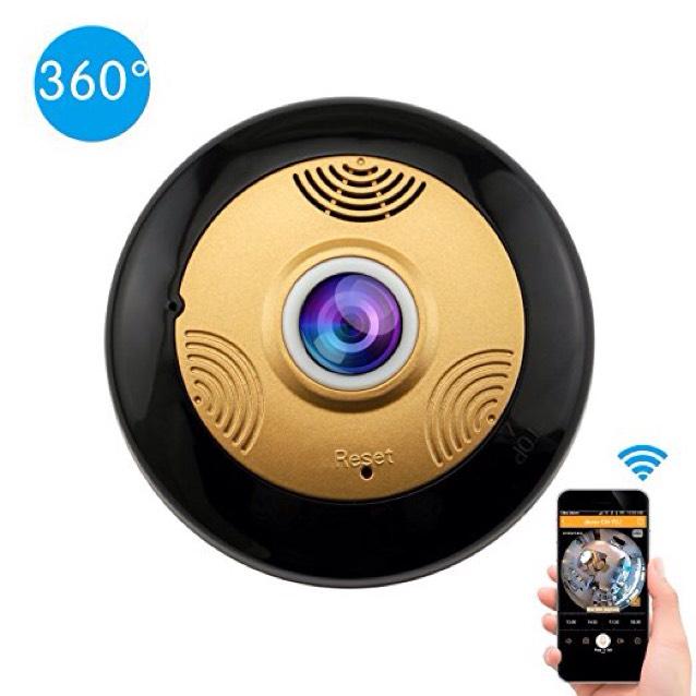 Amazon: Cámara IP 360 Grados Wifi HD 960P Detección de movimiento Visión nocturna IR Inalámbrica