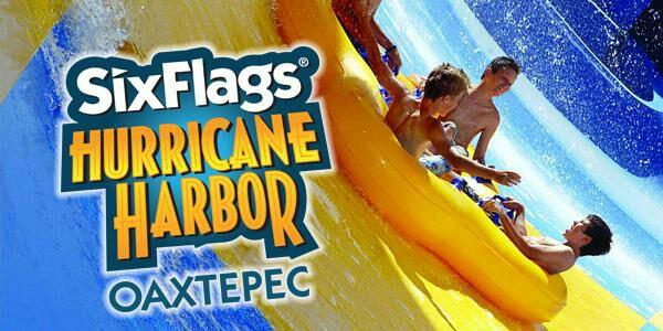 ¡Amigo Gratis para Hurricane Harbor Oaxtepec!