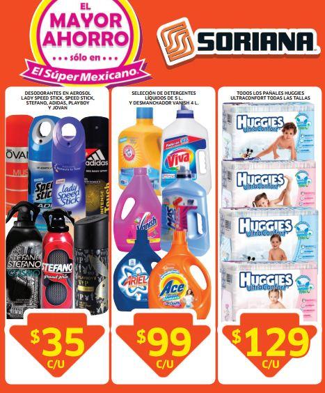 Folleto de ofertas de Soriana del 29 de agosto al 11 de septiembre