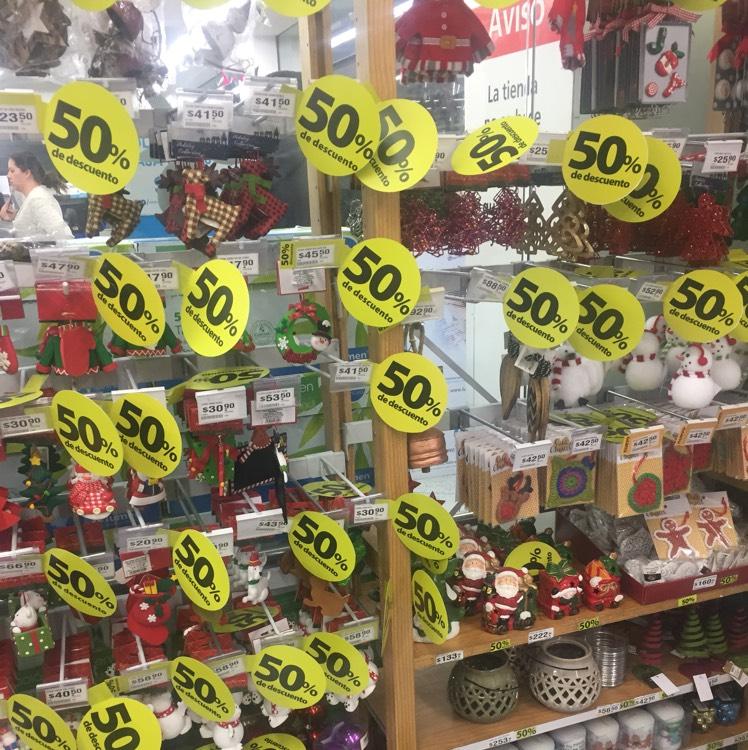 Lumen: artículos navideños al 50%