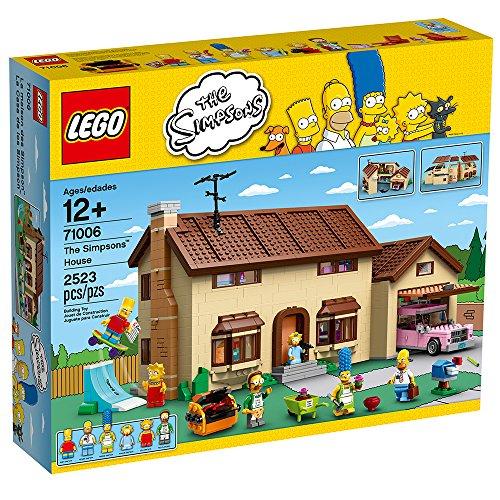 Amazon: LEGO The Simpsons House 2523 piezas Prime