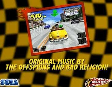 Juego Crazy Taxi gratis para iPhone y Android (regular $65)