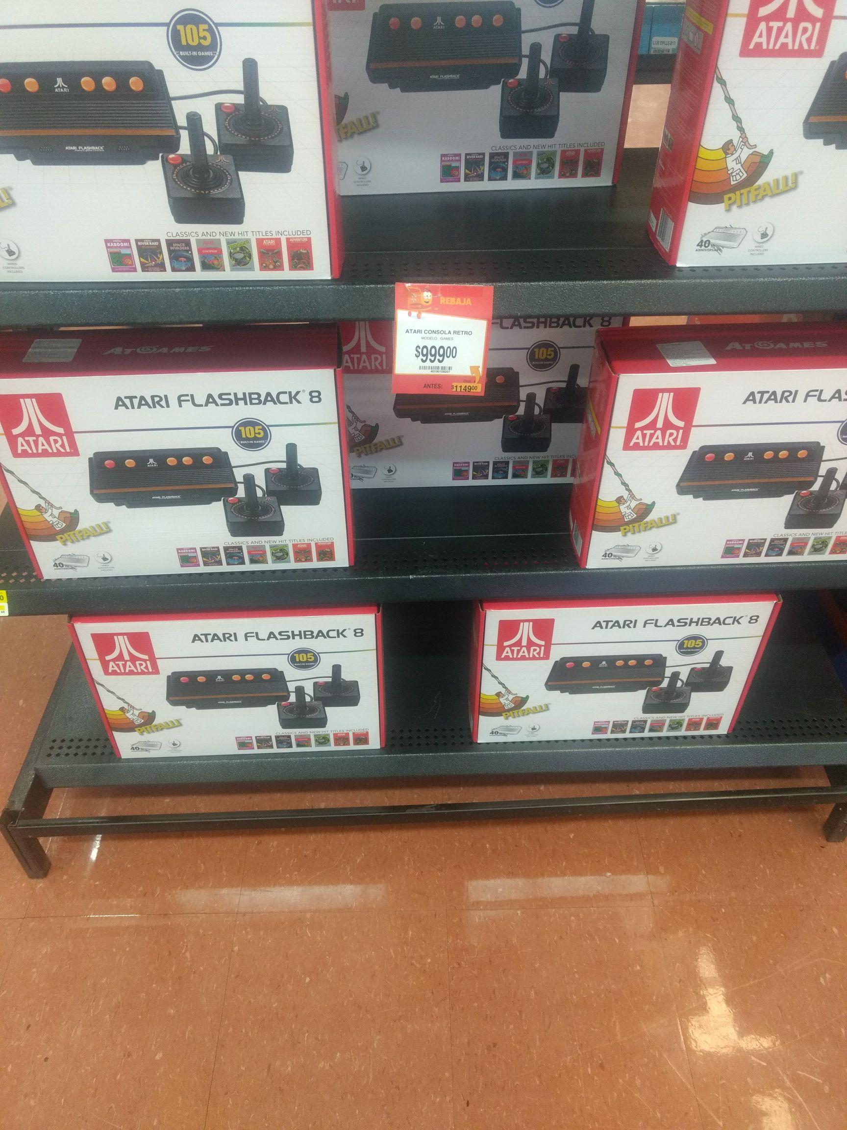 Walmart: Atari clásico a $999