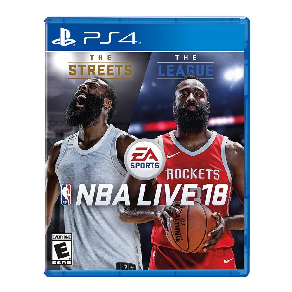 Walmart: NBA Live 18 para PS4 y Xbox One a $539