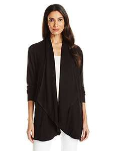 AMAZON: Ruby Rd. Women's Solid Knit Cardigan with Cascade Collar