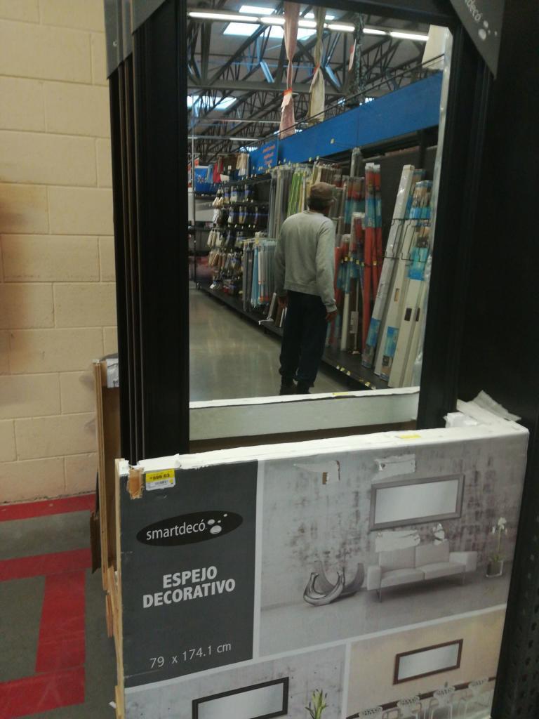 Walmart: espejo de cuerpo completo a $599.03