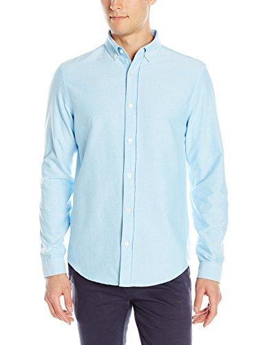 Amazon: Camisa azul Original  Penguin Casual para Hombre, talla grande, Aplica prime