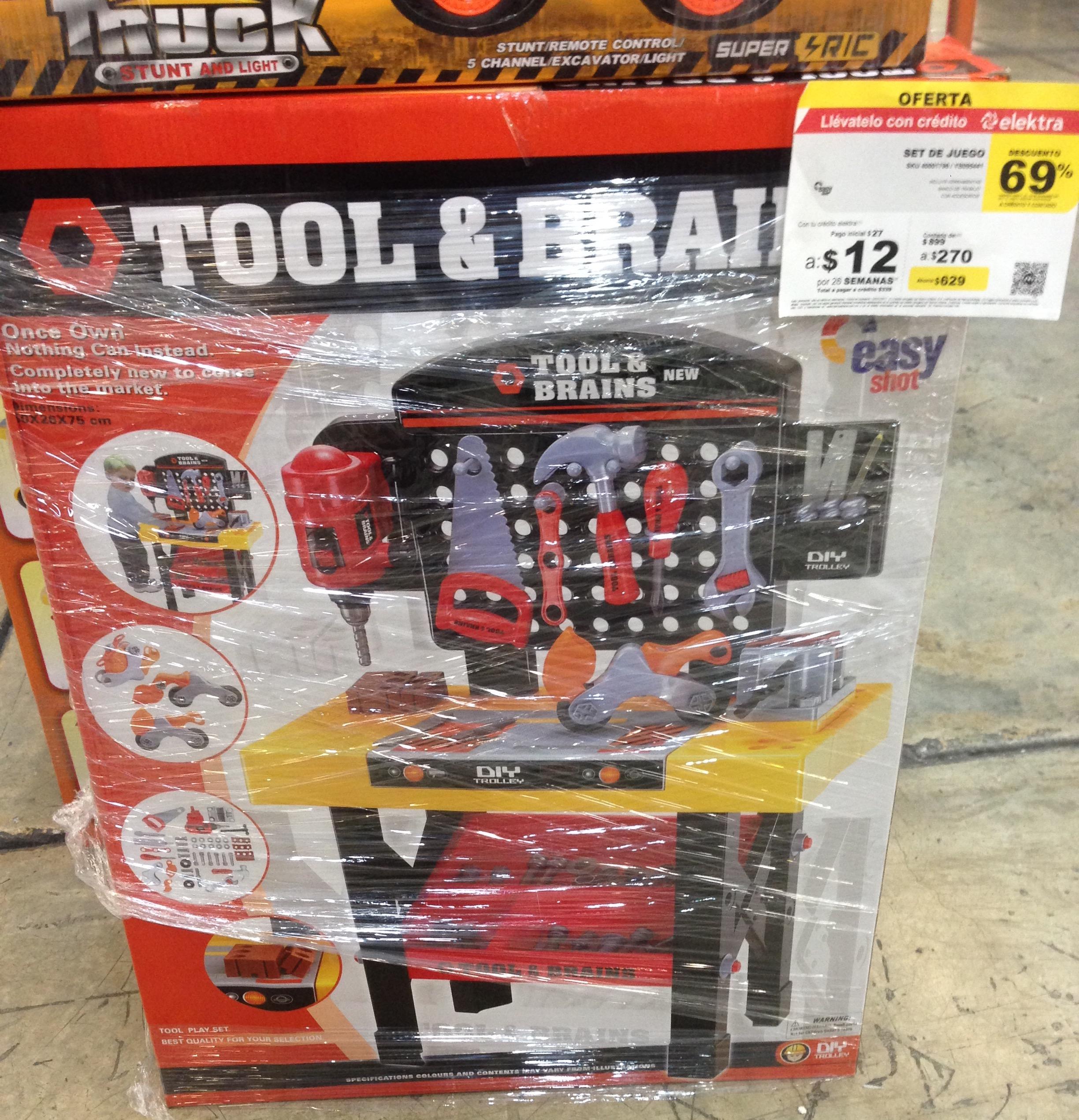 Elektra: Taller herramientas para niños