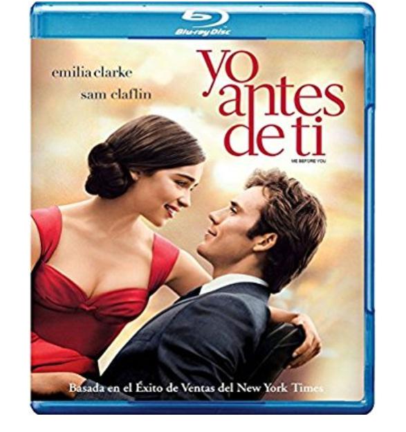 Amazon: Yo antes de ti en Blu-ray