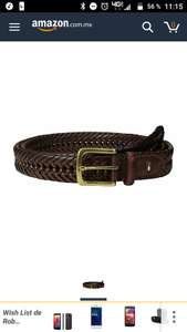 Amazon: Cinturón Tommy Hilfiger Braided Belt