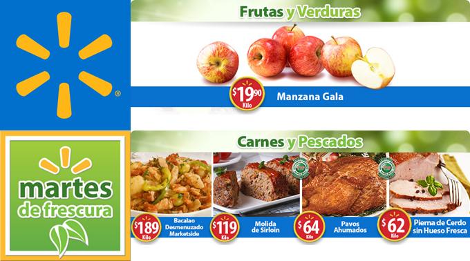 Martes de frescura en Walmart 19 dic (más precios de frutas y verduras)