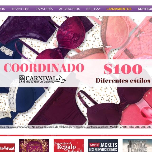 Suburbia: Artículo de la semana, Coordinados para dama Carnival