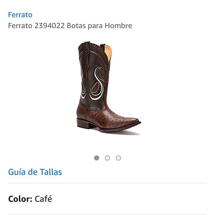 Amazon MX: Botas de piel aplica PRIME