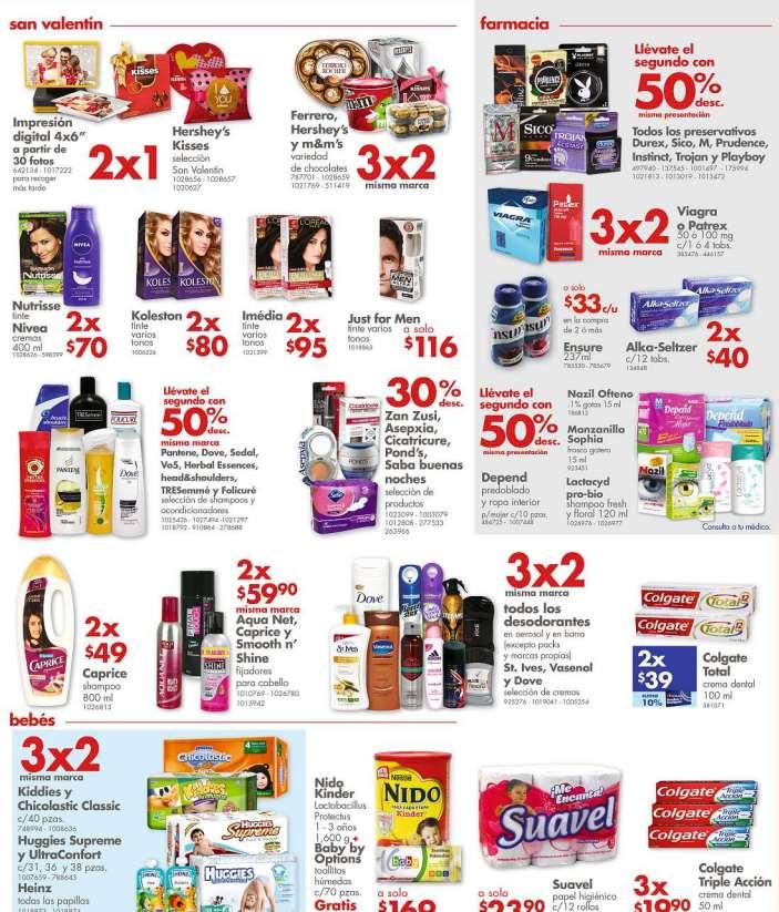 Farmacias Benavides promoción San Valentín: 2x1 en paquetes Kisses, fotos y más