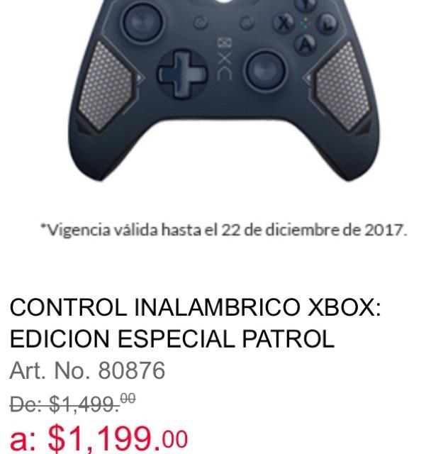 Office Depot: Control Xbox  ESPECIAL PATROL