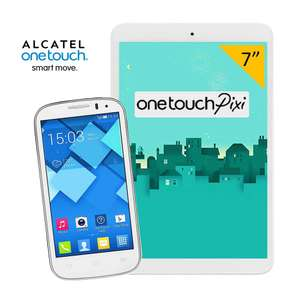 Walmart: celular alcatel pop c5 + tablet $2,299