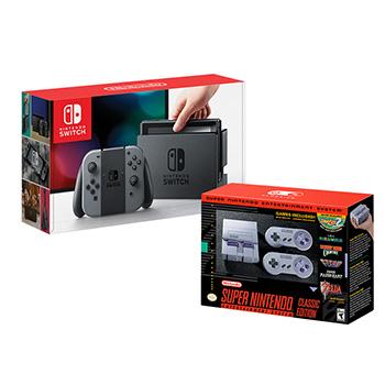 Costco: Nintendo switch + SNES classic edition