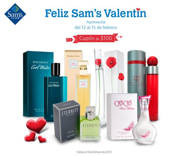 """Sams: $100.00 de descuento en perfumes """"tiendas físicas"""""""