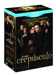 Amazon: Crepúsculo La Saga Blue Ray