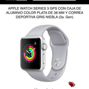 iShop: Apple Watch serie 3 38mm