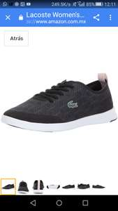 Amazon: tenis lacoste 8US