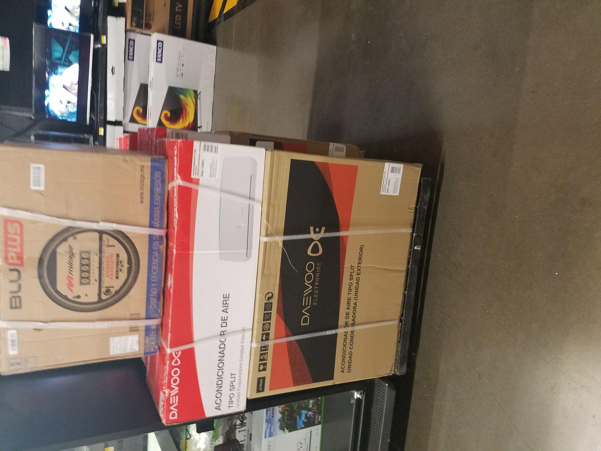Bodega Aurrerá: liquidación Minisplit Daewoo 1 ton 220v