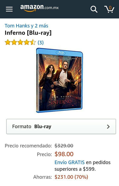 Amazon: Inferno [Blu-ray]