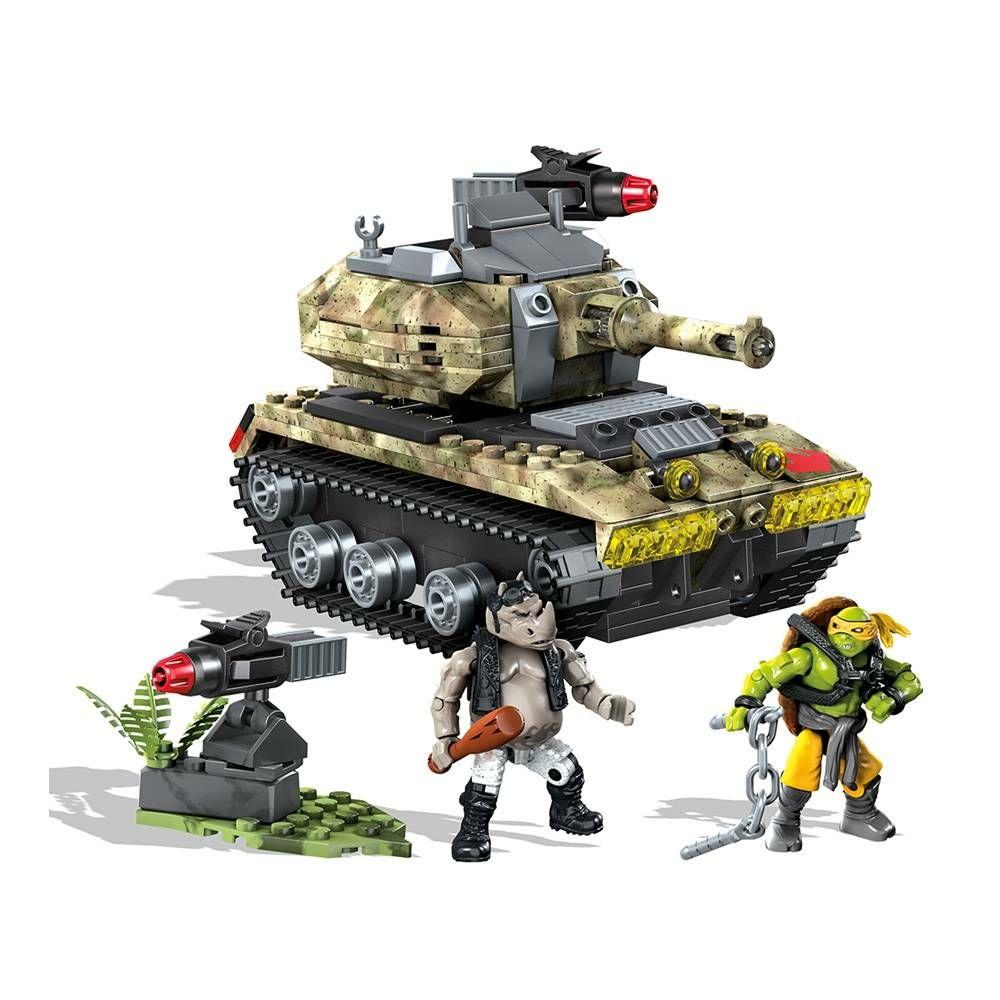 Walmart: Ataque en la Selva Mega Bloks Tortugas Ninja 273 piezas
