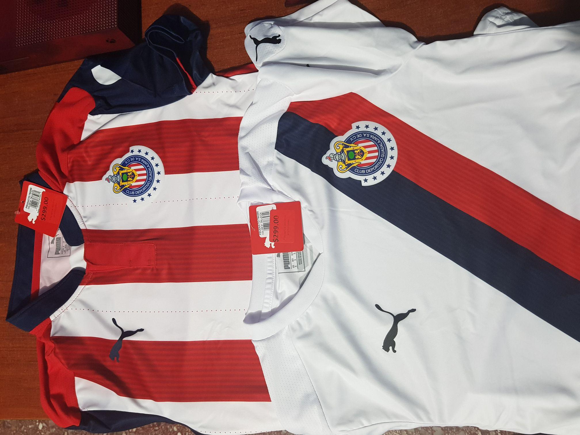 Puma forum cuernavaca:  jersey de las chivas en $299