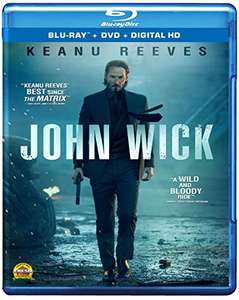 Amazon MX: Blu-ray + DVD John Wick (Importada )