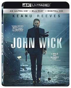 Amazon Mx: John Wick 4K Ultra HD [Blu-ray + Digital HD]