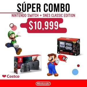 Costco: Nintendo switch + SNES classic edition