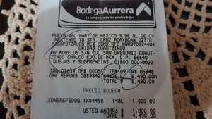 Bodega Aurrerá: Xbox one refurbished
