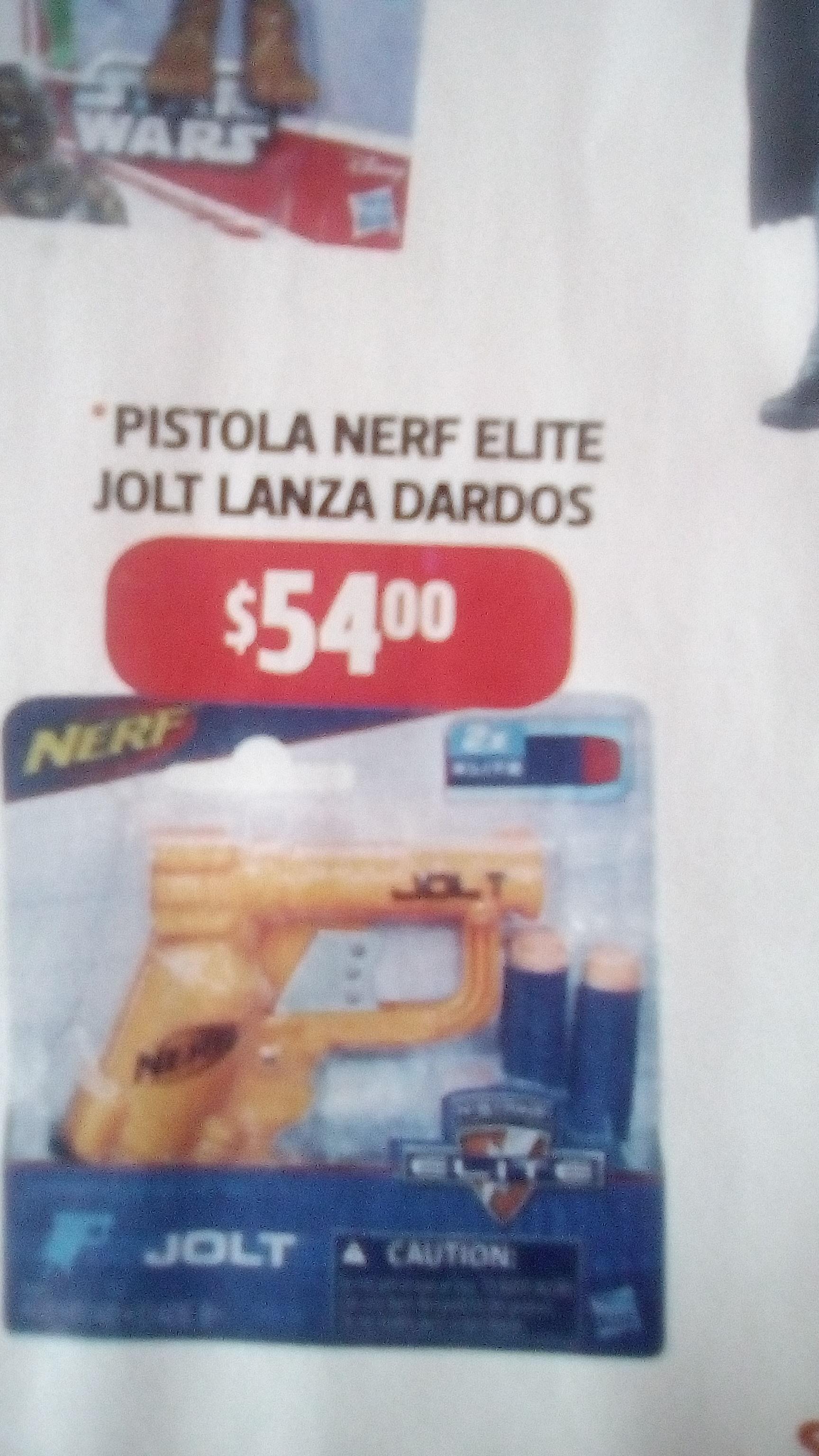Bodega Aurrerá puebla: Pistola Jolt Nerf